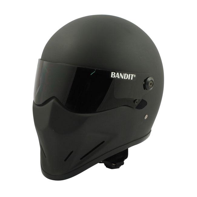【Bandit Helmet】CRYSTAL 全罩安全帽 消光黑 - 「Webike-摩托百貨」