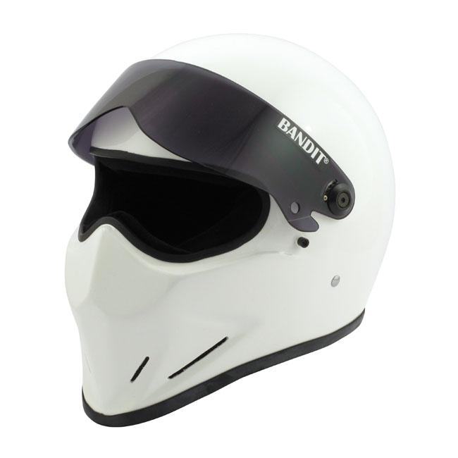 【Bandit Helmet】CRYSTAL 全罩安全帽 白色 - 「Webike-摩托百貨」