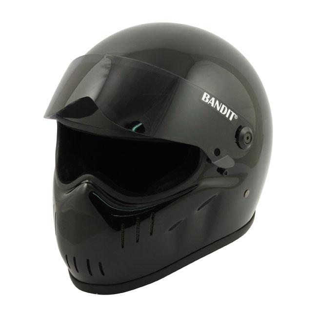 【Bandit Helmet】XXR 全罩安全帽 光澤 黑色 - 「Webike-摩托百貨」