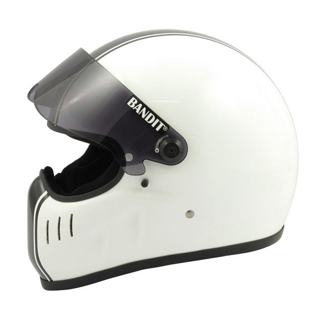 【Bandit Helmet】XXR 經典 全罩安全帽 白色 - 「Webike-摩托百貨」
