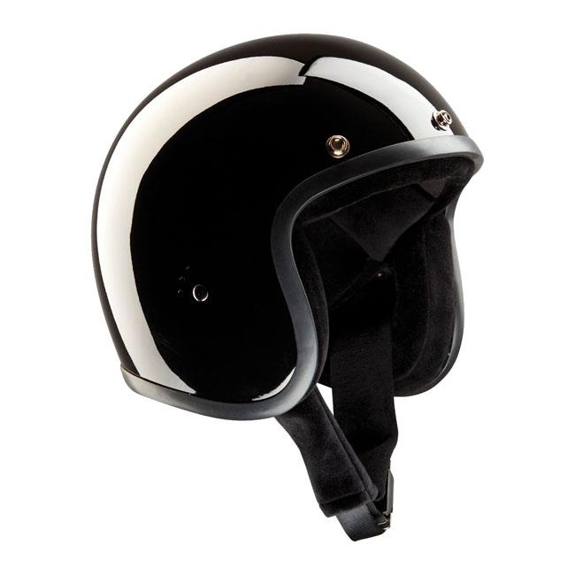 【Bandit Helmet】四分之三安全帽 光澤 黑色 - 「Webike-摩托百貨」