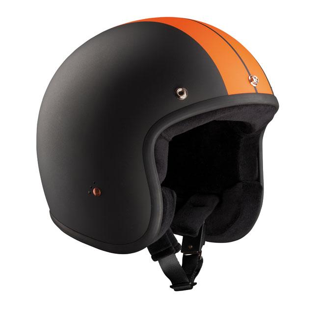 【Bandit Helmet】RACE四分之三安全帽  黑色/橙色 - 「Webike-摩托百貨」
