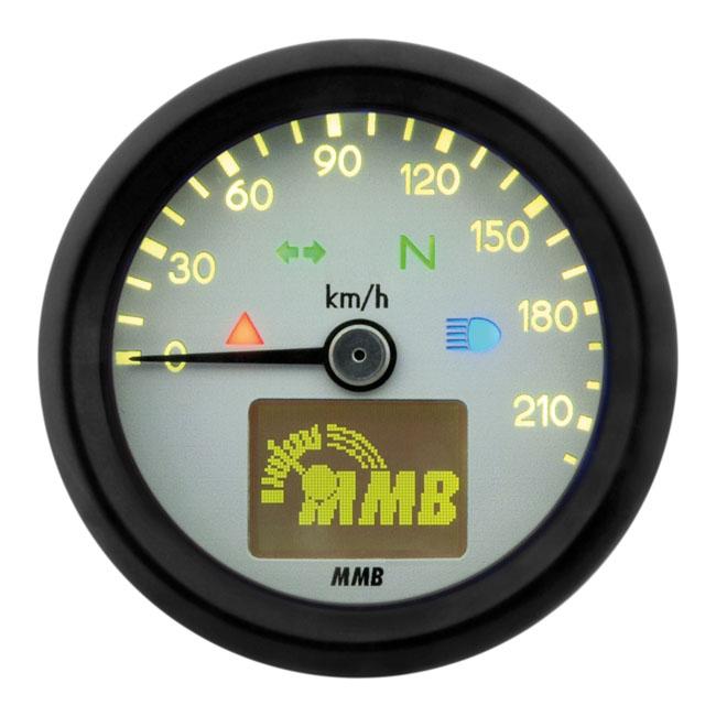 【MMB】48mm 電子式速度表 220 KMH - 「Webike-摩托百貨」