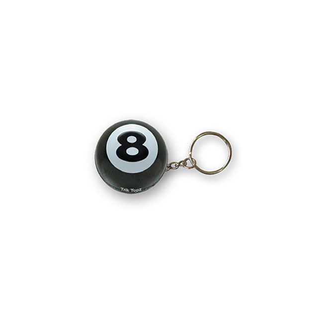 【TRIKTOPZ】EIGHT BALL 鑰匙圈 - 「Webike-摩托百貨」