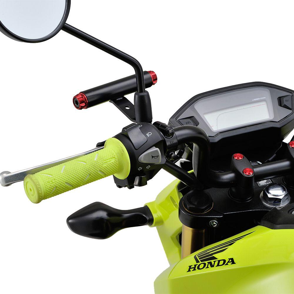 【DAYTONA】多功能把手固定架/DX 後視鏡固定型 - 「Webike-摩托百貨」