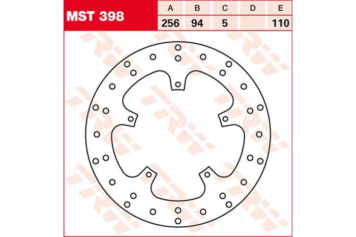 【TRW】煞車碟盤 [MST398] - 「Webike-摩托百貨」