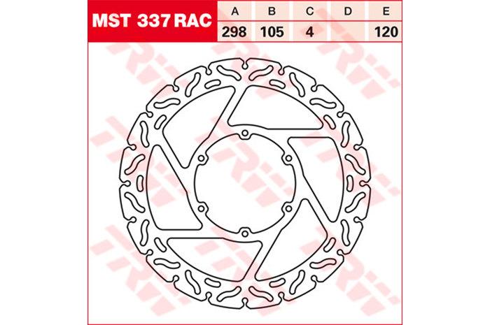 TRW ティーアールダブルBRAKE-DISCS RACING [MST337RAC2]