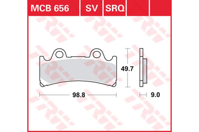 【TRW】煞車來令片  燒結 [MCB656SV] - 「Webike-摩托百貨」