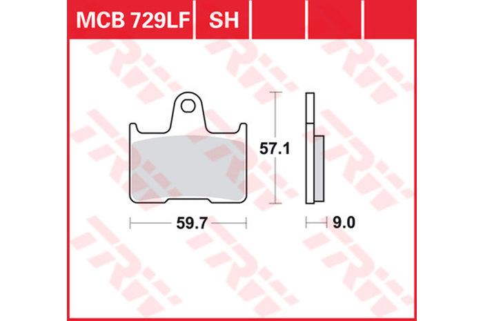 【TRW】煞車來令片 燒結 [MCB729SH] - 「Webike-摩托百貨」