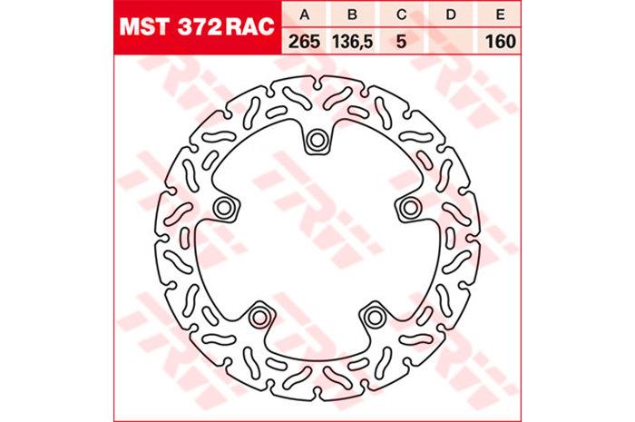 TRW ティーアールダブルBRAKE-DISCS RACING [MST372RAC2]