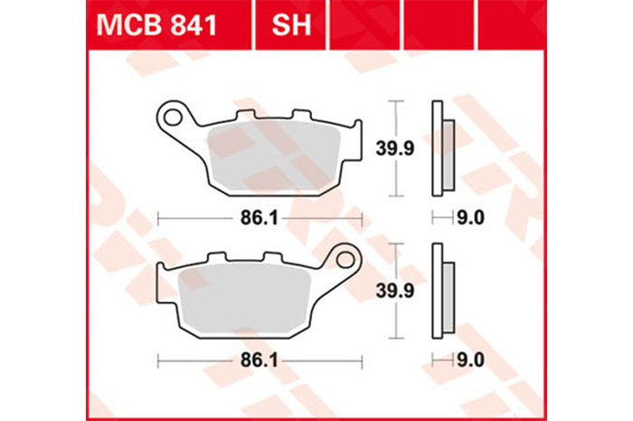 【TRW】煞車來令片 燒結 [MCB841SH] - 「Webike-摩托百貨」