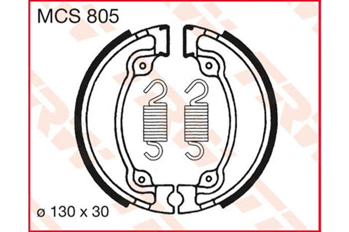 TRW ティーアールダブルBRAKE-SHOES ORGANIC [MCS805]