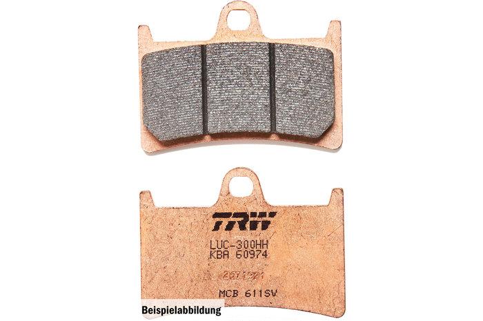 TRW ティーアールダブルBRAKE-PADS SINTER [MCB625SI]