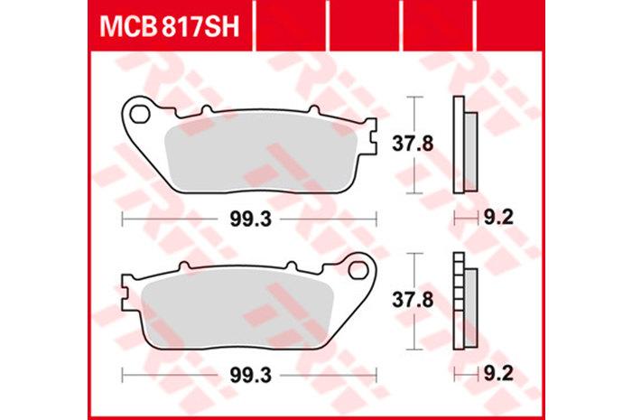 【TRW】煞車來令片 燒結 [MCB817SH] - 「Webike-摩托百貨」