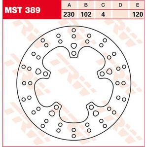 【TRW】煞車碟盤 [MST389] - 「Webike-摩托百貨」