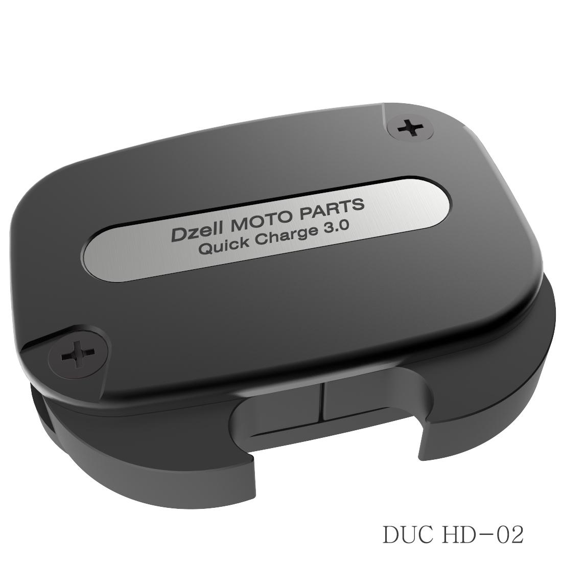 Dzell USB 雙插口 HD-02