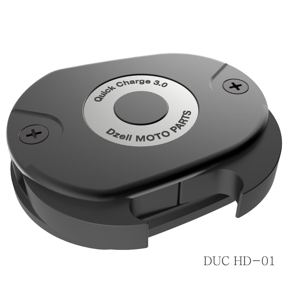 Dzell USB 雙插口 HD-01