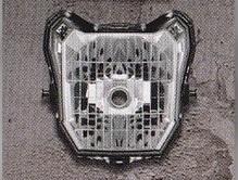 【H2C】燻黑色頭燈護蓋 - 「Webike-摩托百貨」