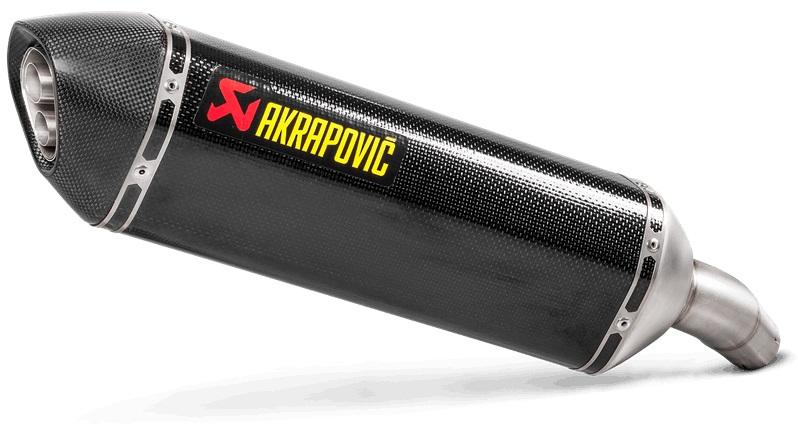 【AKRAPOVIC】e4規格 Slip-on Line 排氣管尾段 - 「Webike-摩托百貨」
