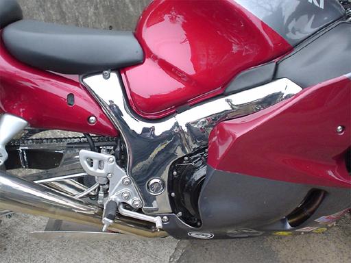 【Class 4】鍍鉻 車架護蓋 - 「Webike-摩托百貨」