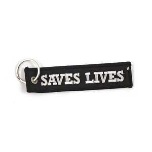 """MCS エムシーエスキーリング ルードパイプ """"SAVES LIVES""""【KEY RING LOUD PIPES SAVES LIVES】"""