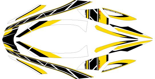【MDF】専用圖案車身貼紙 - 「Webike-摩托百貨」