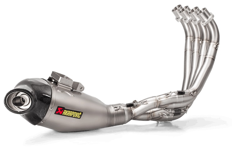 【AKRAPOVIC】e4規格 Racing Line (4-2-1) 全段排氣管 - 「Webike-摩托百貨」