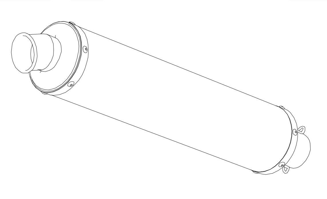 【MORIWAKI】【排氣管維修部品】 ANO 消音器總成 - 「Webike-摩托百貨」