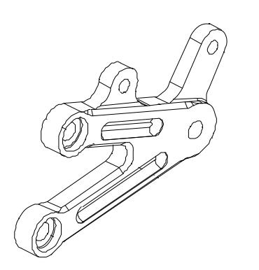 【MORIWAKI】【腳踏後移套件維修部品】 腳踏底板LH - 「Webike-摩托百貨」