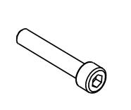【MORIWAKI】【腳踏後移套件維修部品】 內六角螺絲 8x45 - 「Webike-摩托百貨」