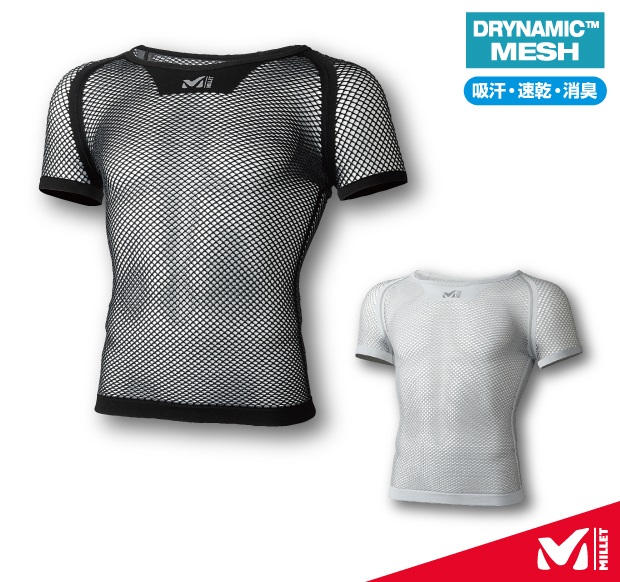 【ROUGH&ROAD】MILLET DRYNAMIC™  網格內穿衣 SS - 「Webike-摩托百貨」