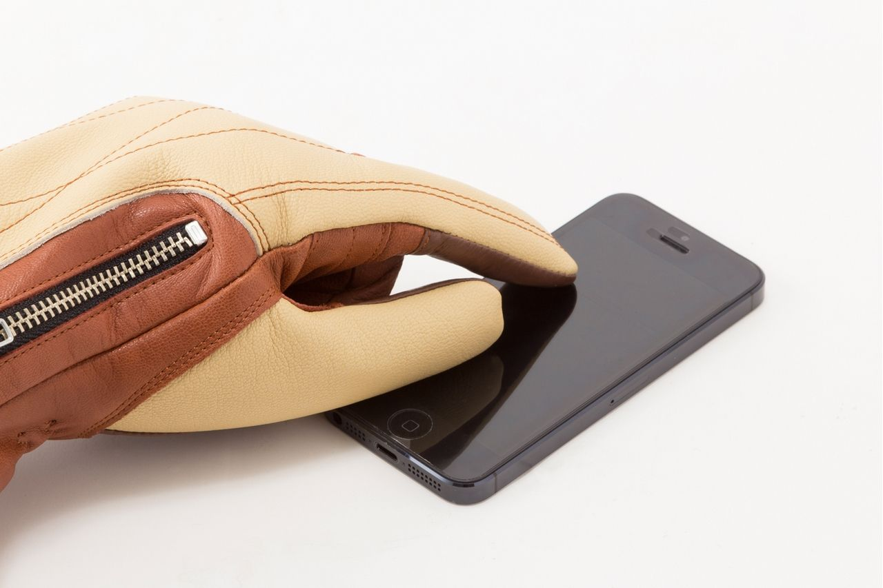 【GOLDWIN】多功能冬季皮革手套 GSM16557 - 「Webike-摩托百貨」