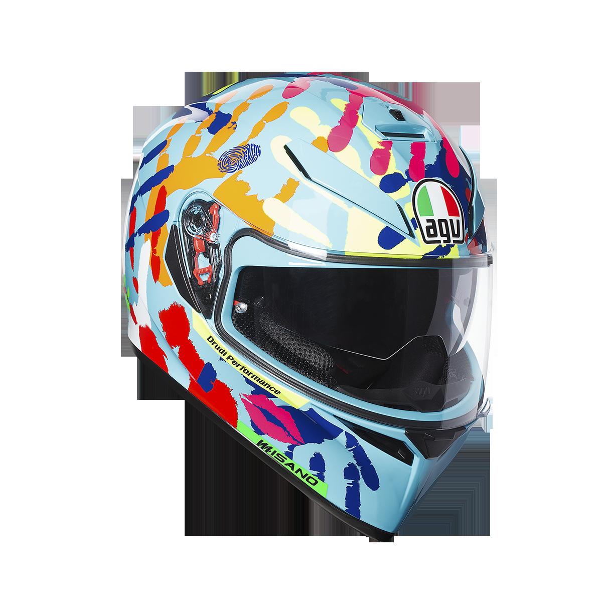 AGV エージーブイK-3 SV ヘルメット (JIST TOP)