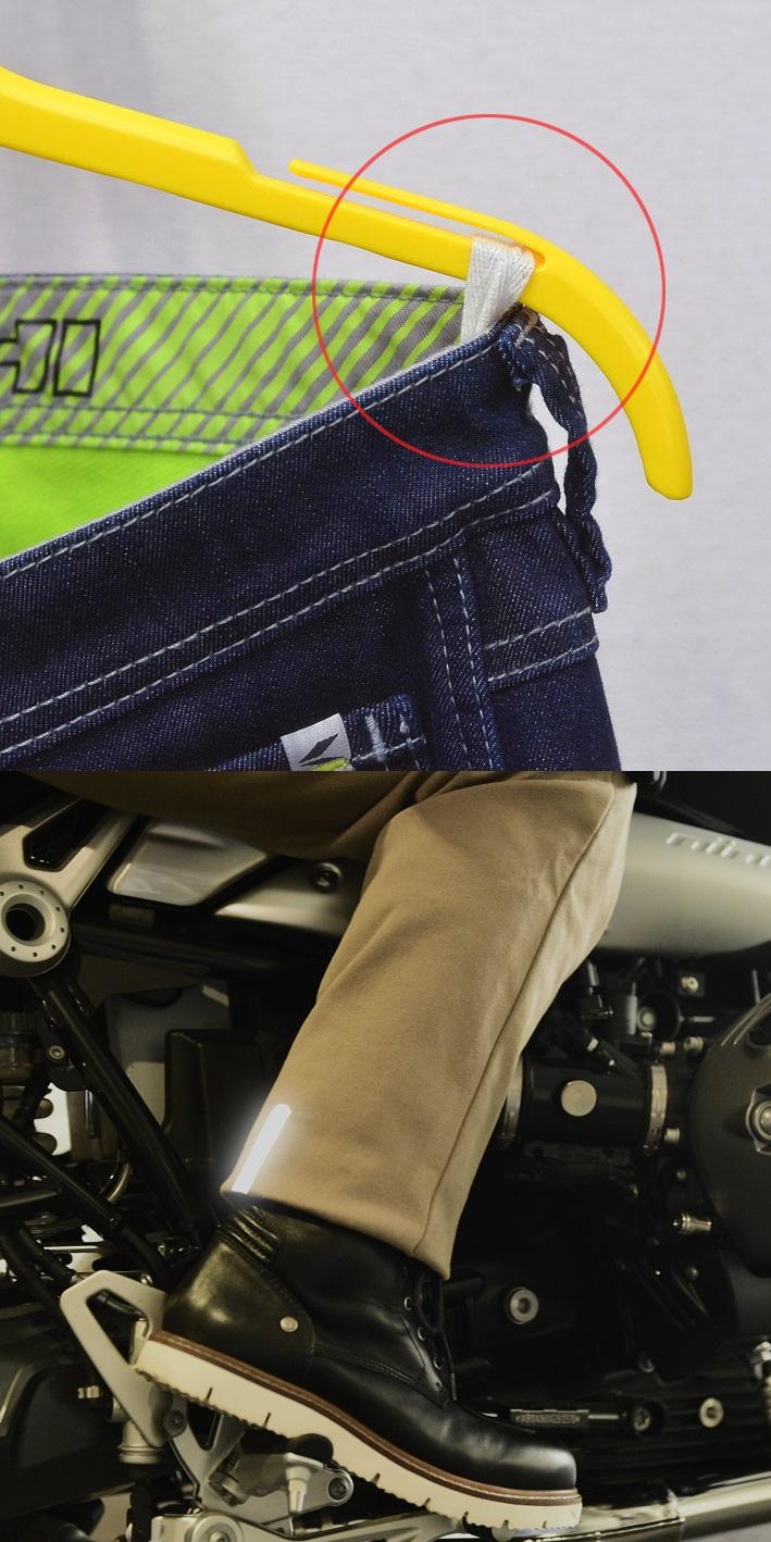【RS TAICHI】RSY550 防風彈力牛仔褲 - 「Webike-摩托百貨」