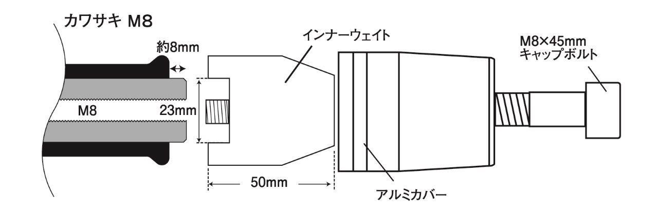 【POSH】KAWASAKI M8用平衡端子 - 「Webike-摩托百貨」
