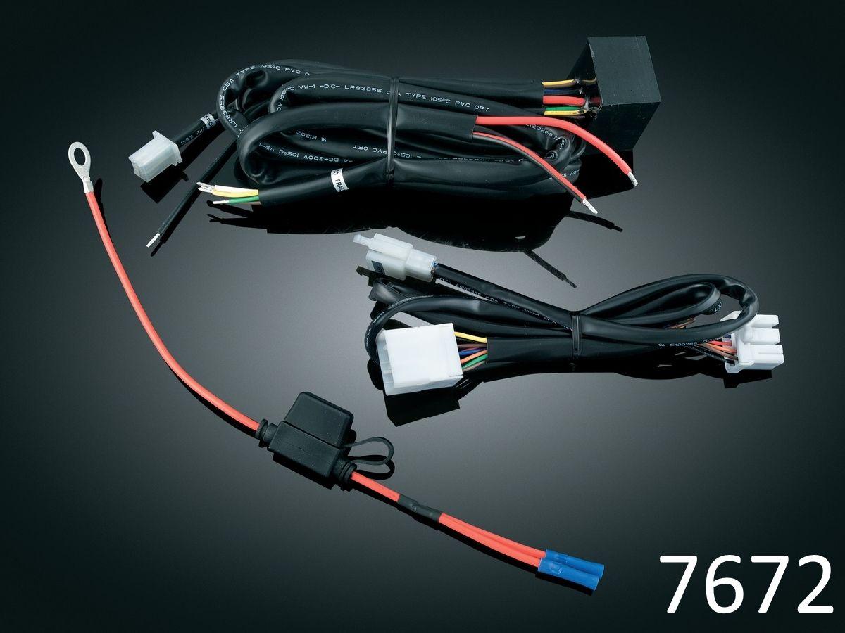plug play trailer wiring harness relay kuryakyn harnesses