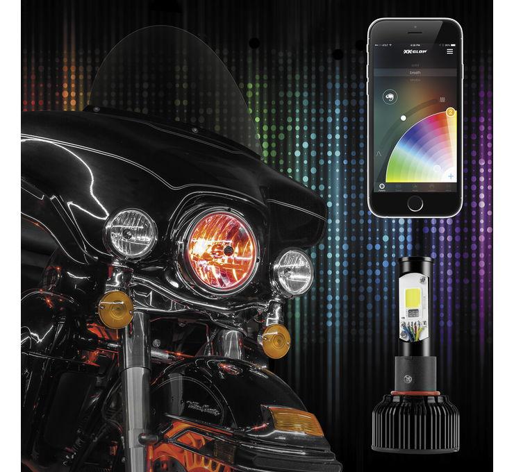 【XK Glow】2合1 LED 頭燈套件 [482116] - 「Webike-摩托百貨」
