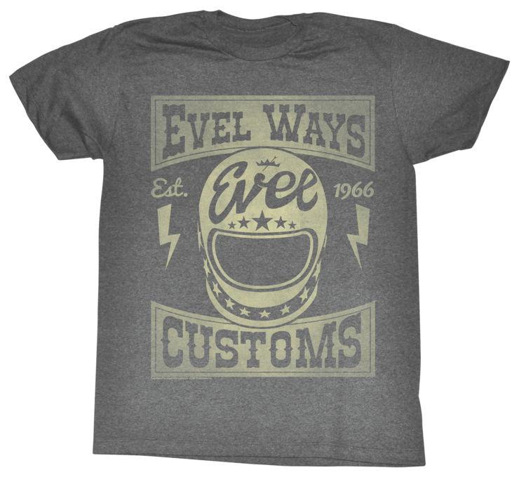 【American Classics Apparel】Evel Ways 男用T恤 - 「Webike-摩托百貨」