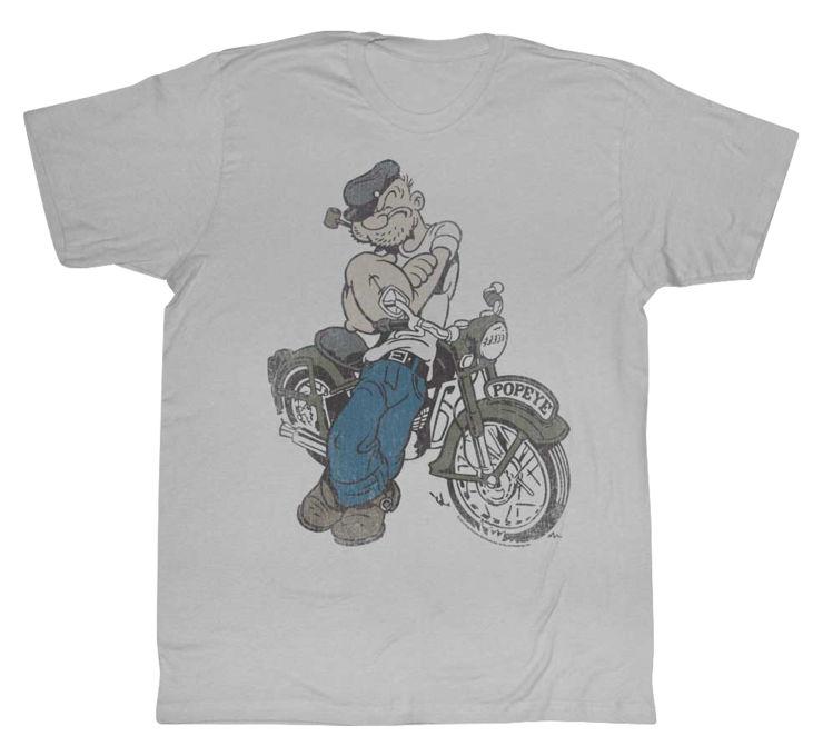 【American Classics Apparel】Popeye Cycle 男用T恤 - 「Webike-摩托百貨」