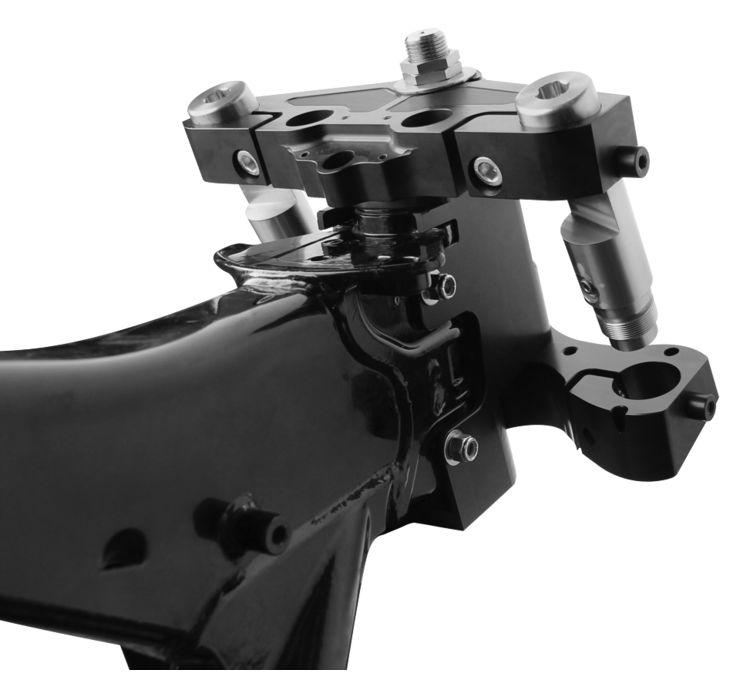 【American Suspension】螺絲固定式車架頭管和三角台 [666316] - 「Webike-摩托百貨」