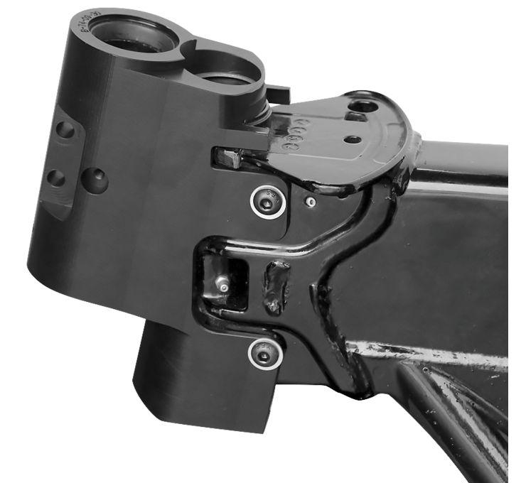 【American Suspension】螺絲固定式車架頭管和三角台 [666317] - 「Webike-摩托百貨」