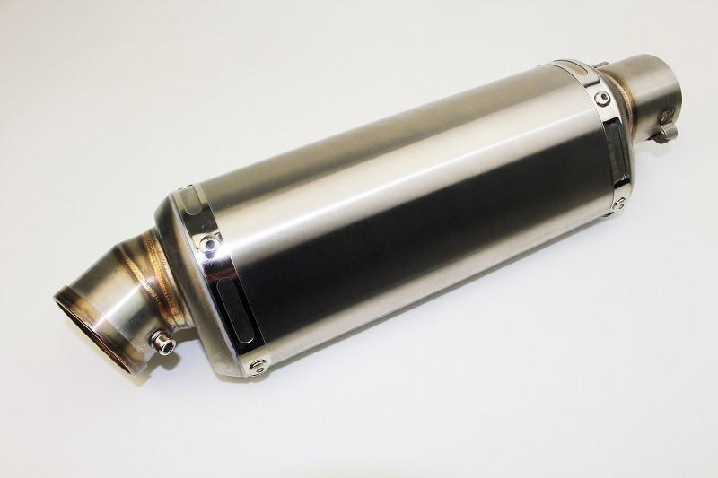 【MINIMOTO】 MONKEY 橢圓形 不銹鋼全段排氣管 - 「Webike-摩托百貨」