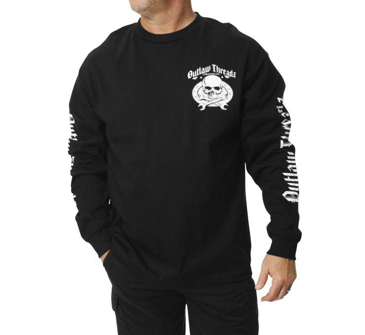 【Outlaw Threadz】Original Outlaw 男用長袖T恤 - 「Webike-摩托百貨」