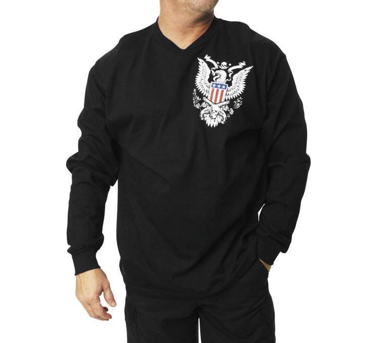 【Outlaw Threadz】Second Amendment 男用長袖T恤 - 「Webike-摩托百貨」