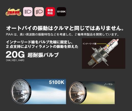 【PIAA】MB73 Southern Star white HS5 燈泡 - 「Webike-摩托百貨」