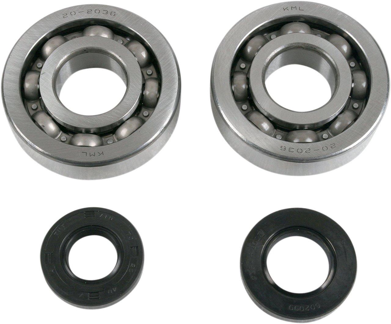 Kx250 Main Crank Bearings And Seals Kit 87 88 89 90 91 92 93 94 95 Shaft Bearing Seal Kits