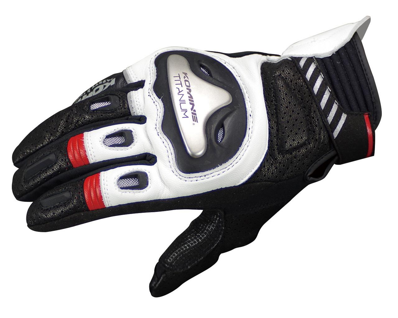 GK-200 Super Fit Titanium Leather Gloves R Spec