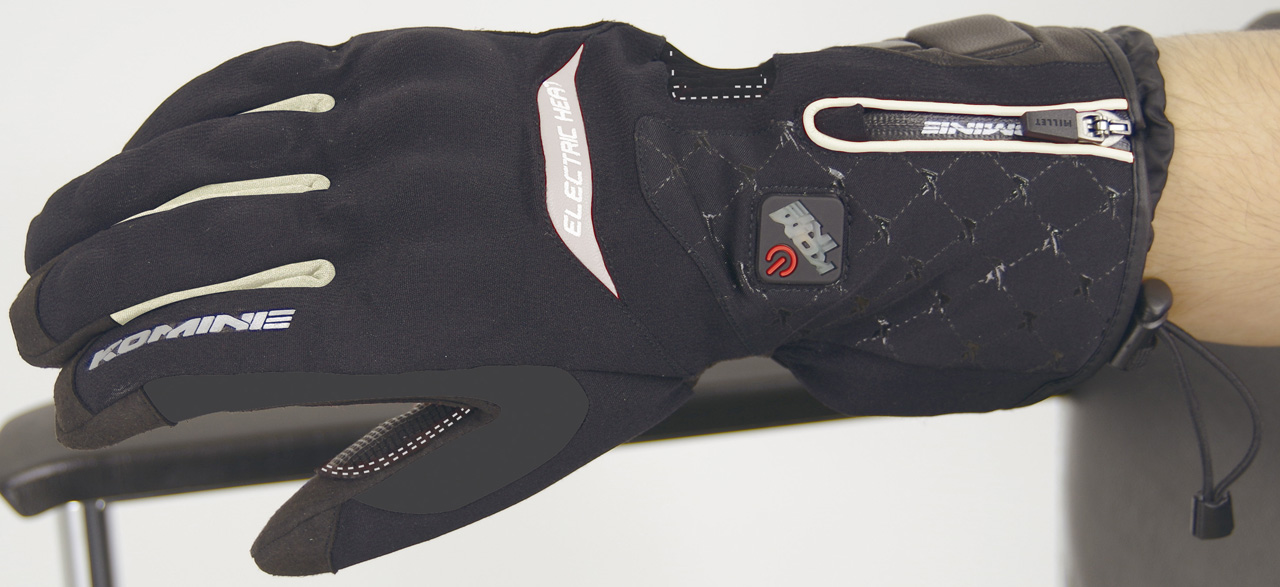 【KOMINE】GK-777 電力發熱手套Cicero - 「Webike-摩托百貨」