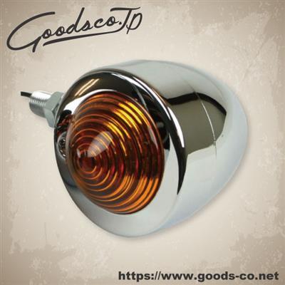 【GOODS】Small Bullet 方向燈 鍍鉻 [琥珀色] - 「Webike-摩托百貨」