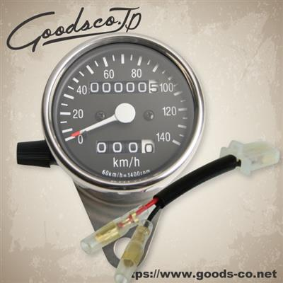 【GOODS】側邊安裝型儀錶套件 φ60 附里程錶) - 「Webike-摩托百貨」